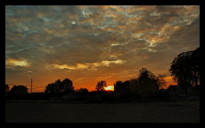 Dingden Sunset (HDR)