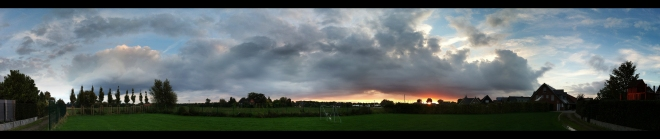 Dingden Sunset (Panorama)
