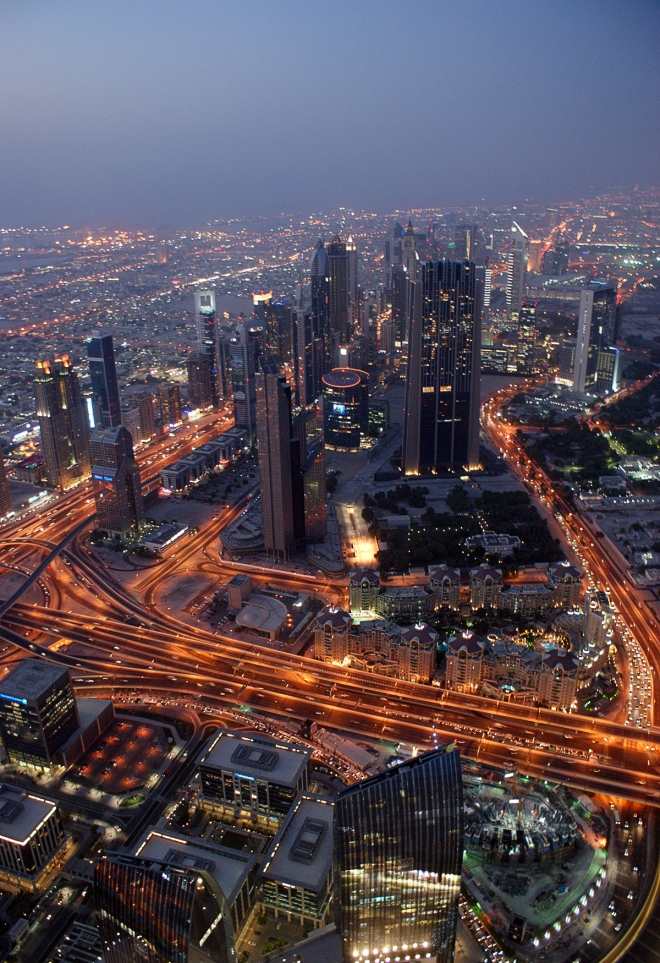 Dubai At Night (City)