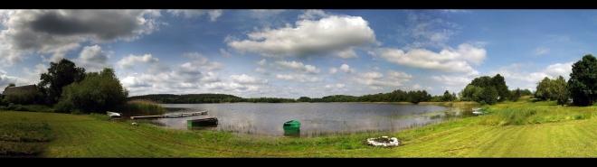 Dzwierszno Male Lake (Panorama)