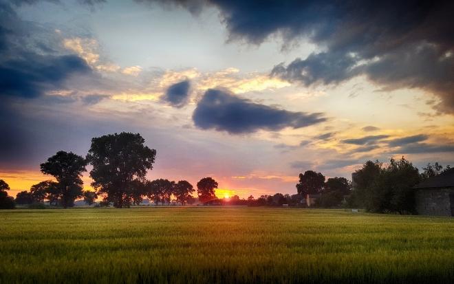 Dzwierszno Male Sunset (HDR)