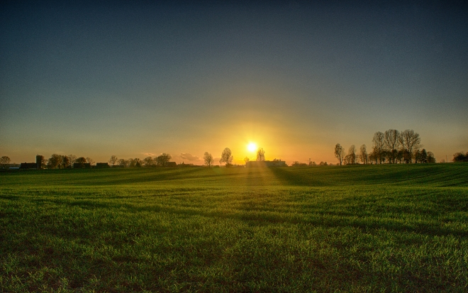 Dzwierszno Male Sunset (HDR) No. 2