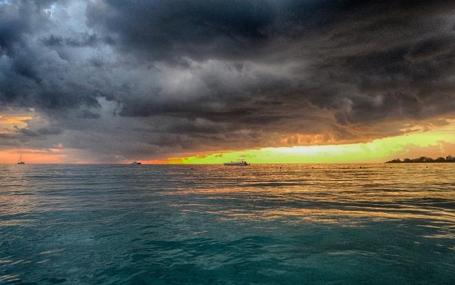 Jamaica Sunset Boat No. 2