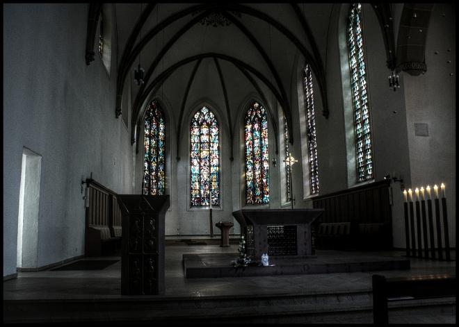 Kirche St. Agnes (HDR)