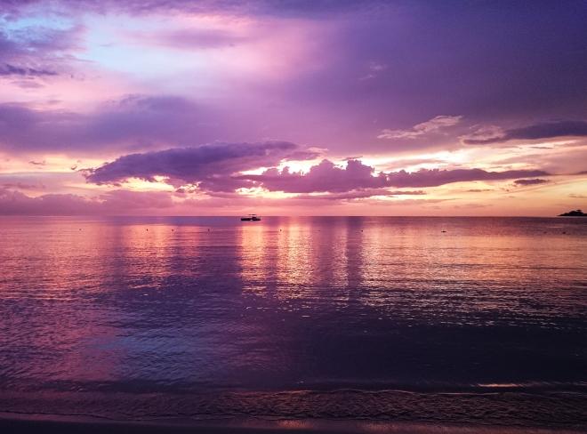 Sunset Jamaica Beach No. 3