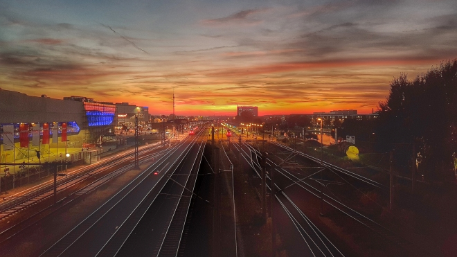 Sunset Wolfsburg (HDR)