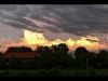 Dzwierszno Male Fire Clouds (Panorama)