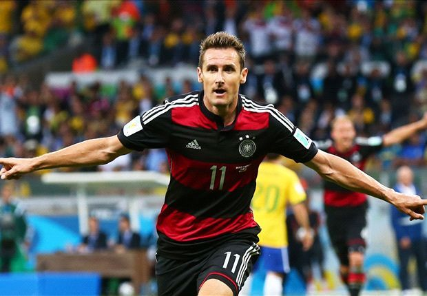 Klose Breaks World Cup Record