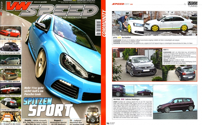 VW Speed 10|12